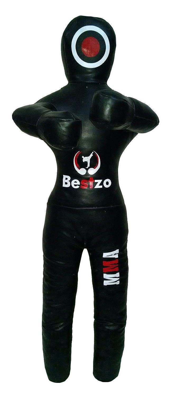 最高の品質の bestzo ft) MMA Jiu Jitsu柔道Punching Bag Black Grapplingダミーblack-unfilled 70 inches (6 (6 ft) Canvas Black B01M0U42RY, ランコシチョウ:fd076359 --- a0267596.xsph.ru