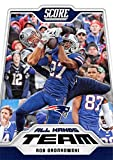 #8: Rob Gronkowski 2018 Score All Hands Team #13 Patriots Football Card
