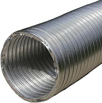 Tubo flexible de Aluminio 300 Mm/12 cm de largo – 2,5 m manguera de Flexi Sistema De Ventilación: Amazon.es: Bricolaje y herramientas