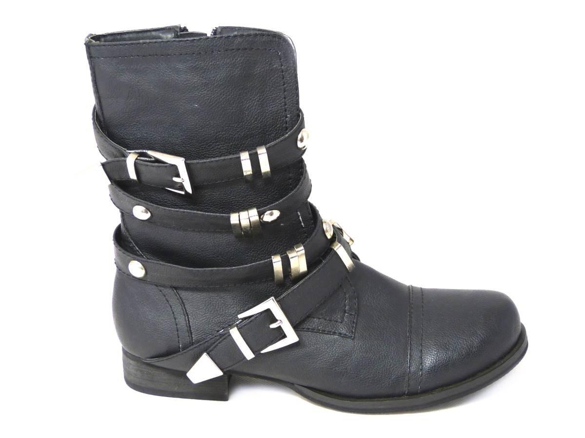 SKO'S - Botas para mujer tipo cowboy de media caña tallas 36, 37, 38, 39, 41, 42, color, talla 41 EU