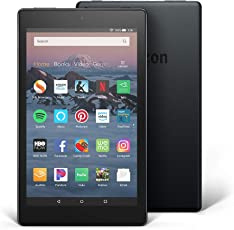 "All-New Fire HD 8 Tablet | Hands-Free with Alexa | 8"" HD Display, 16 GB, Black - with Special Offers"