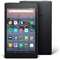 "Certified Refurbished Fire HD 8 Tablet (8"" HD Display, 16 GB) - Black"