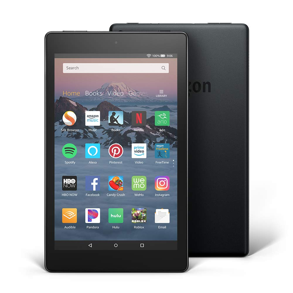 Fire HD 8 Tablet (8'' HD Display, 16 GB) - Black by Amazon