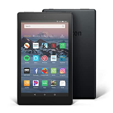 Fire HD 8 Tablet (8  HD Display, 16 GB) - Black