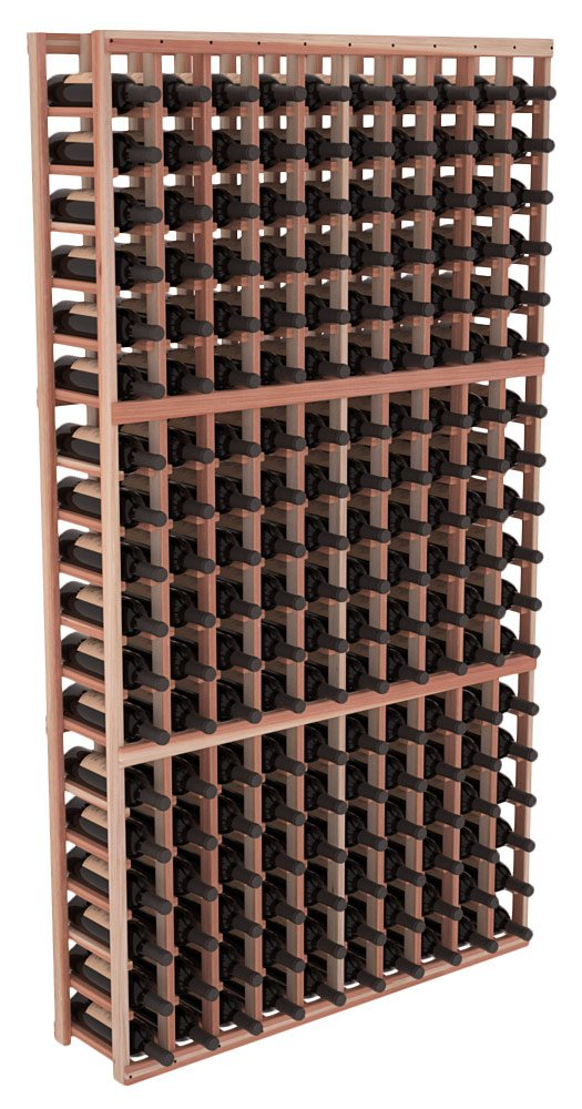 Wine Racks America Redwood 10 Column Wine Cellar Kit. 13 Stains to Choose From!