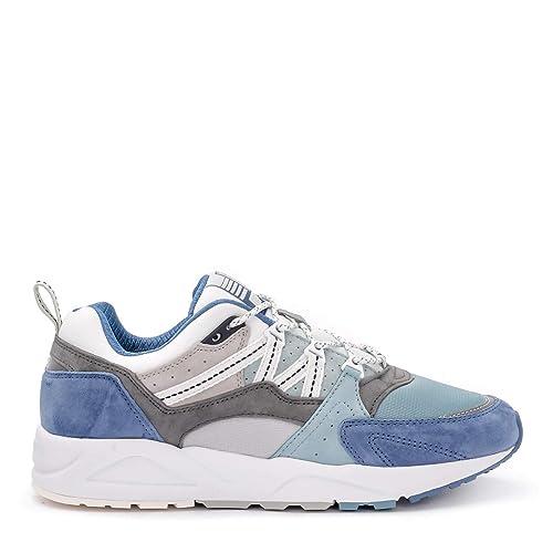 b4abdd1ce166b Amazon.com | Karhu Men's Sneaker Fusion 2.0 in Suede E Nylon Azzurro ...