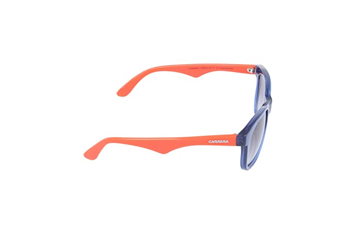 Carrera Kids  Carrerino 10 Rectangular Sunglasses, TRANSPARENTBLUE, 46 mm  Carrera  Junior  Amazon.in  Clothing   Accessories 3333565b8524