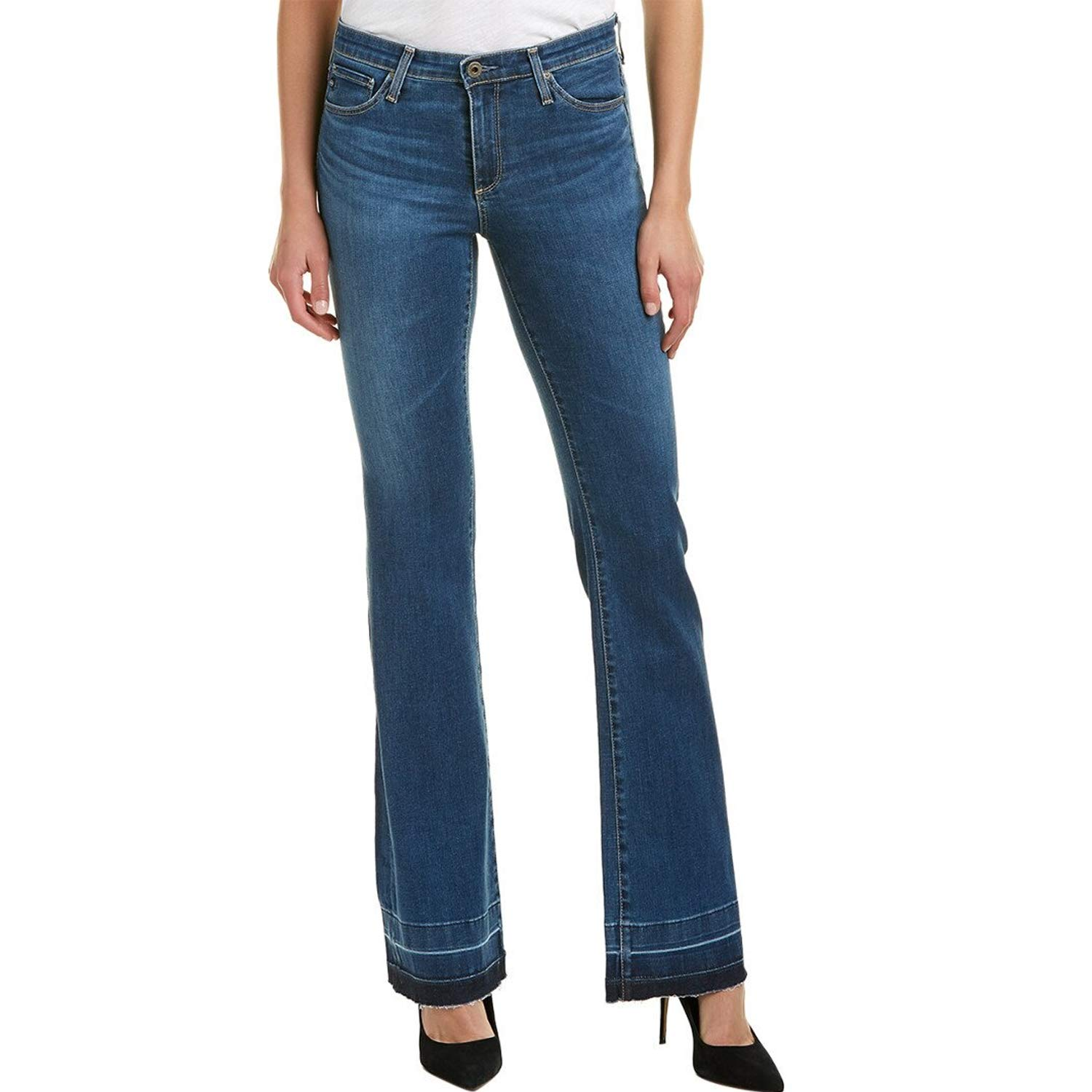 AG Jeans Womens Angel Bootcut Jeans  Interim Interim 27, 28