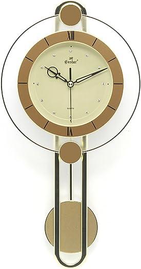 Gold Retro wall clock Creative Quartz clock decoration Wall clock bedroom Mute Pocket watch Craft