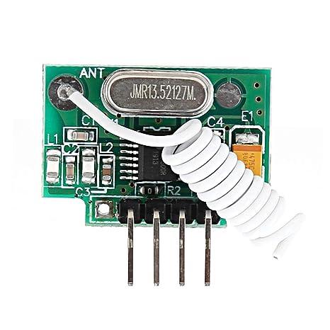Receptor RF inalámbrico con módulo de recepción de alarma de ...