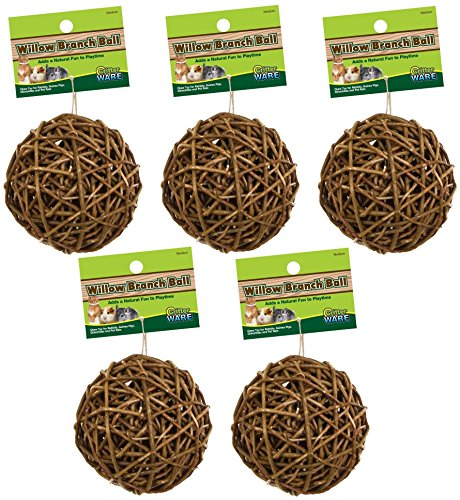 (5 Pack) Ware Manufacturing Willow Branch Ball 4-inch by Ware Manufacturing