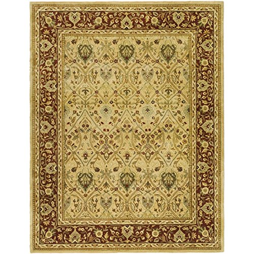 Area Persian Rugs Wool - Safavieh Persian Legend Collection PL819D Handmade Traditional Ivory and Rust Wool Area Rug (5' x 8')