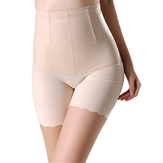 6e307f32a20d9 Everyspace Lady High Waist Slimmer Tummy Control Shapewear with Lace  (Beige