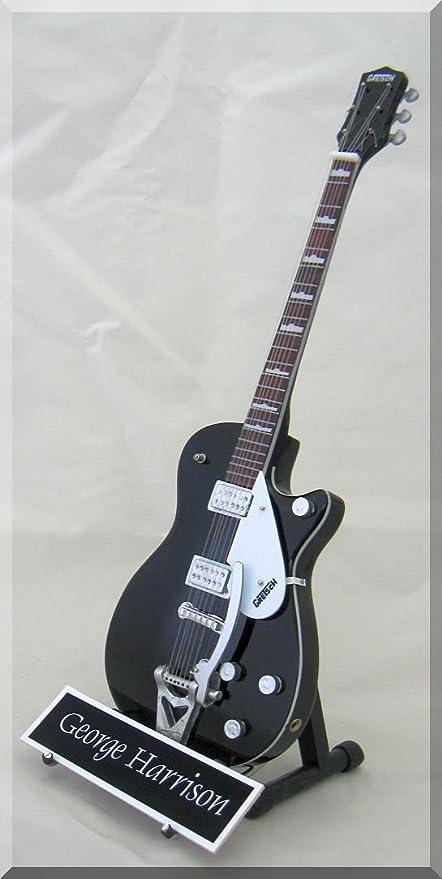 George Harrison guitarra en miniatura Duo Jet con etiqueta de ...