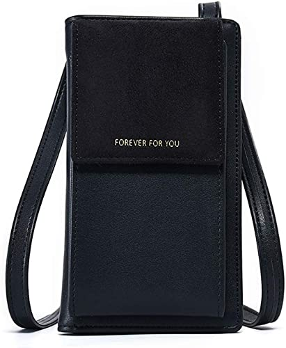 Small Crossbody Bag Cellphone Purse Wallet With Credit Card Slots For Women