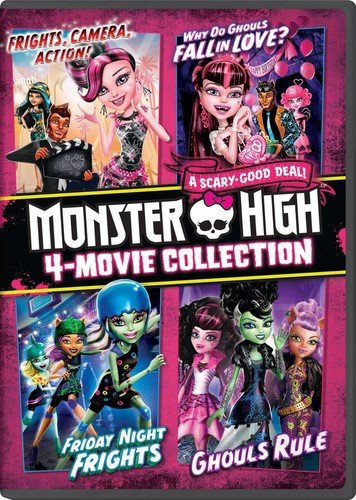 Monster High 4-Movie Collectio...