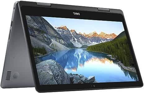 "Latest_Dell Inspiron 2-in-1 5000 14.0"" HD LED-Backlit Touchscreen High Performance Laptop, Intel Core i3-8145U Processor,8GB DDR4 RAM,256GB Solid State Drive, Wifi+Bluetooth, HDMI, USB 3.1, Windows 10"