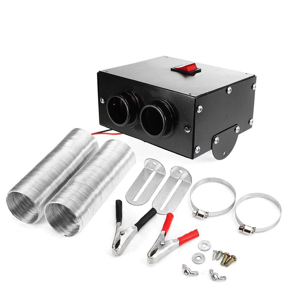 Lorchwise Universal DC 12V Car Truck Fan Heater Warmer 500W - Portable Car Defroster Defogger