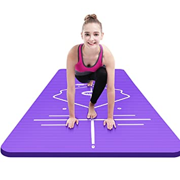 Amazon.com: Yoga Mats Sports & Fitness Beginner widening ...