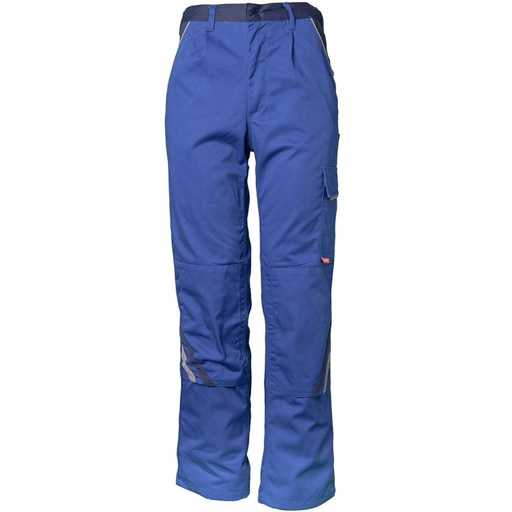 Planam 2320052''Highline'' Trousers, Royal Blue/Marine Blue/Zinc, 52