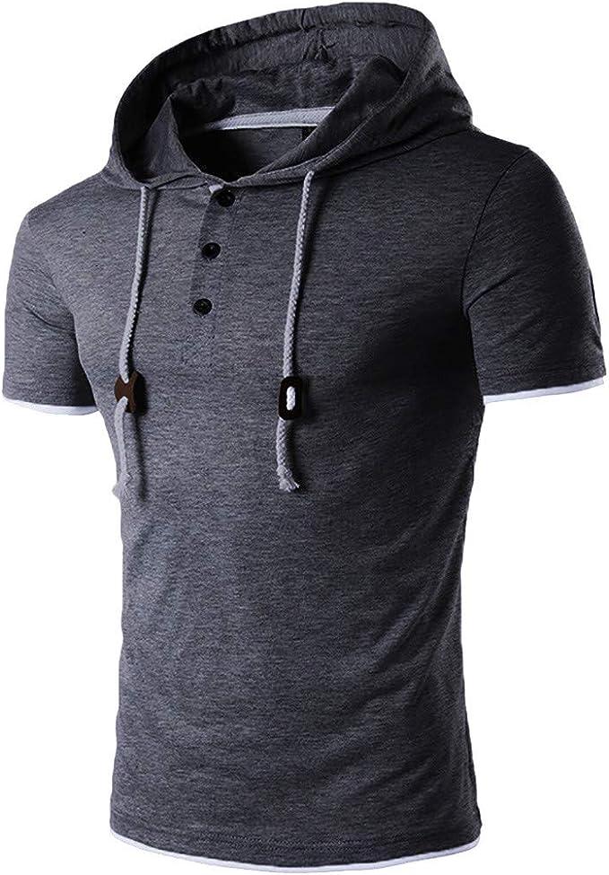 Covermason Chemise à Capuche Top t-Shirt