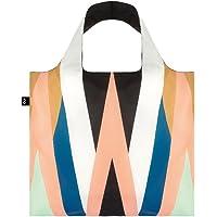 LOQI Echo Zigzag Reusable Shopping Bag, Multicolor