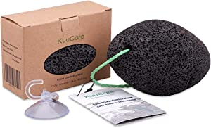 KuuCare Pumice Stone for Feet, Natural Earth Lava Pumice Stone - Foot File Callus Remover for Feet Heels, Pedicure Exfoliator for Dead Skin, Hard Skin and Foot Scrubber