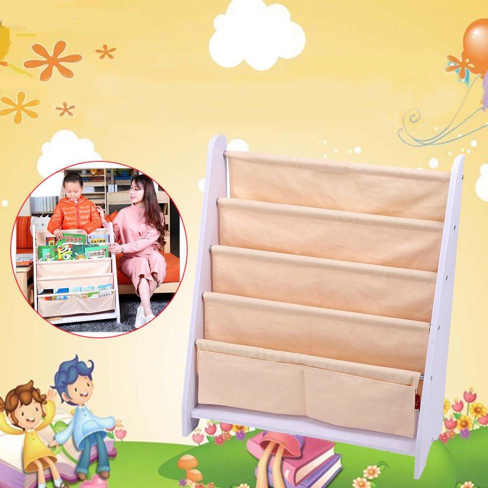Kinder Bücherregal Kinderregal Spielzeugregal Standregal Kinderzimmer Regal Yosoo