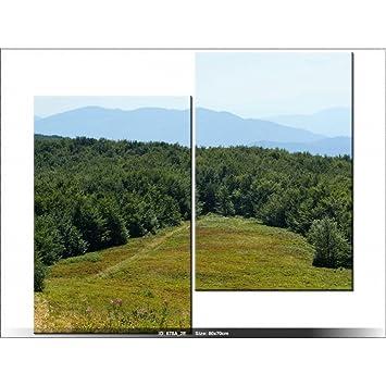 art-gallery XXL – 70 x 80 cm – Landschaft – Tabelle Multi ...