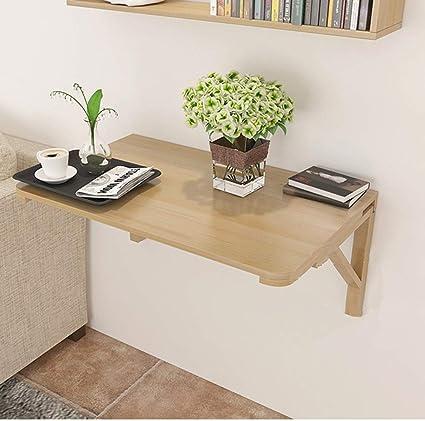 Mesa plegable de pared 60 * 40 cm Colgante estantería de ...