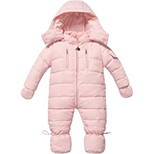 d8872cb8e375 Amazon.com  The Essential One - Baby Girls  Snowsuit 3-6 Months Pink ...