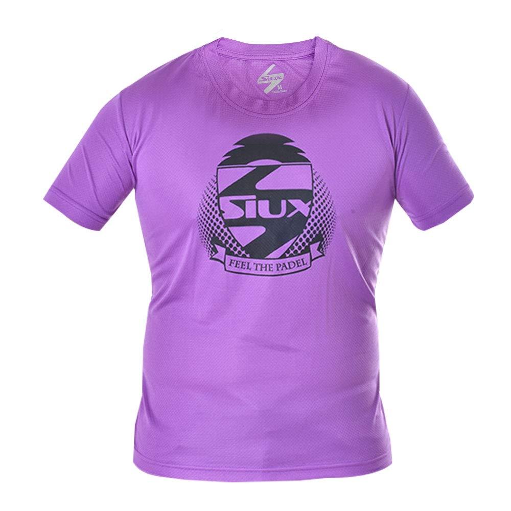 Siux Camiseta Dry Violeta Negro: Amazon.es: Deportes y aire libre