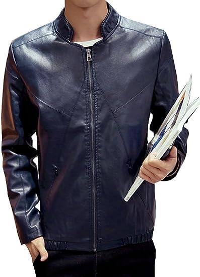 (ネルロッソ) NERLosso 革ジャン ブルゾン メンズ puレザー 裏起毛 裏ボア ジャンパー スタジャン 大きいサイズ 革 ミリタリージャケット ライダース cmh24356