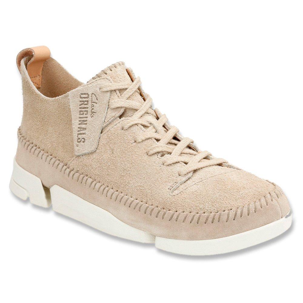 Sand Clarks Men's Trigenic Flex Lace-Up Mocassin Style shoes