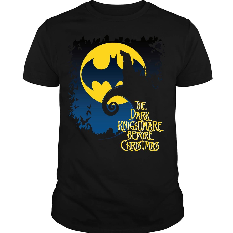 The Dark Knight Before Christmas T Shirt Bat Man T Shirt