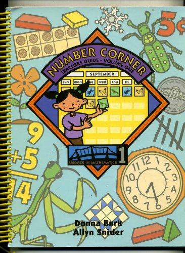 Number Corner, Teacher's Guide, Volume One (Bridges in Mathematics - Tysons Corner 1
