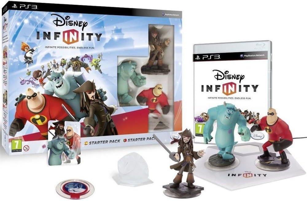 Namco Bandai Games - Disney Infinity: Pack de Inicio - PS3.: Amazon.es: Juguetes y juegos