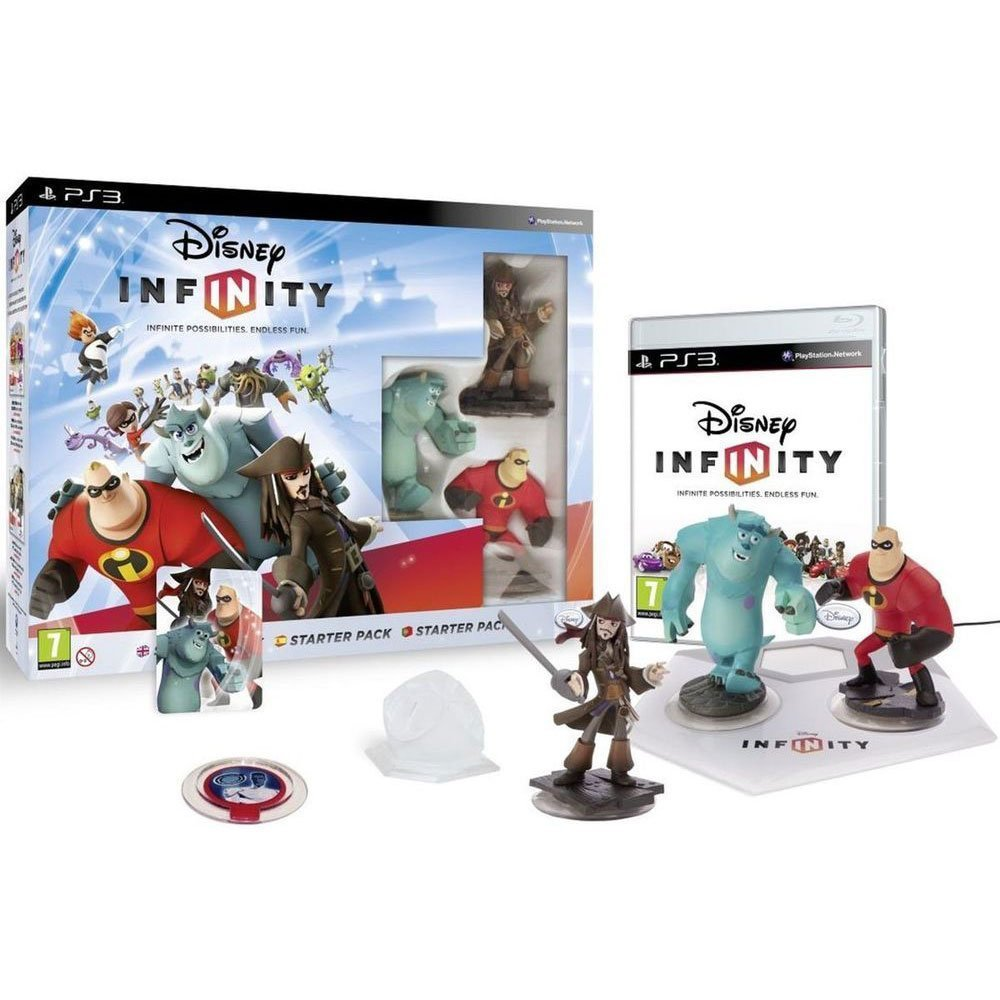 Pack de inicio Disney Infinity PS3.