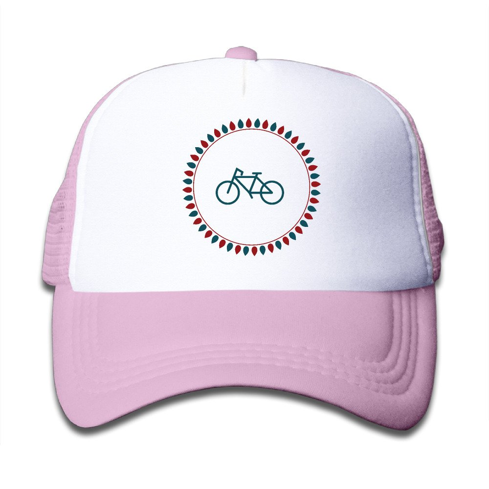 Camping Bicycle Adjustable Mesh Polyester Youth Trucker Style Switch Training Cap Pink Halloween Holiday Gifts