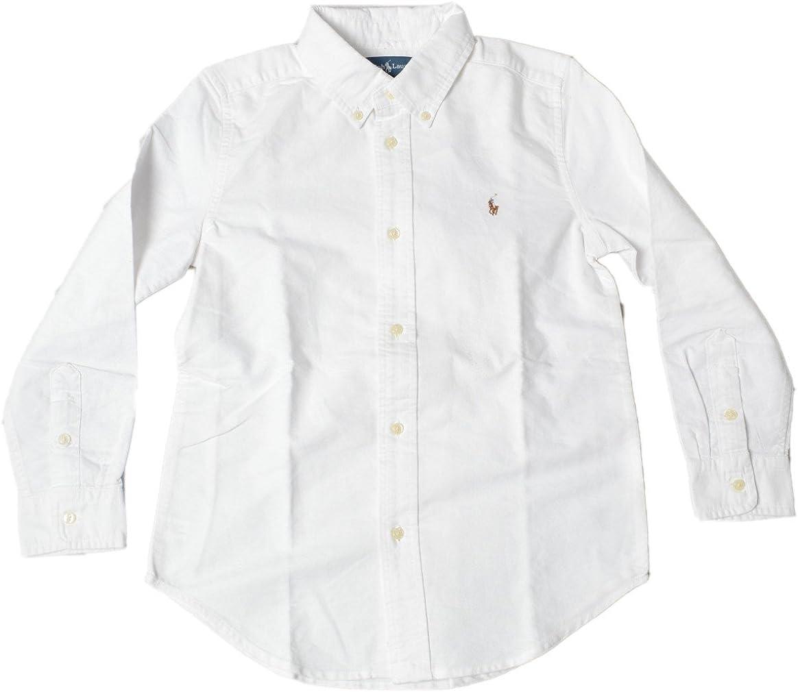 Polo Ralph Lauren palo de golf para niños camisa blanca 100 ...