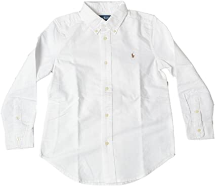 Polo Ralph Lauren palo de golf para niños camisa blanca 100% auténtica PS050: Amazon.es: Ropa y accesorios