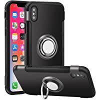 BUYINSOON iPhone X Case Car Phone Stand