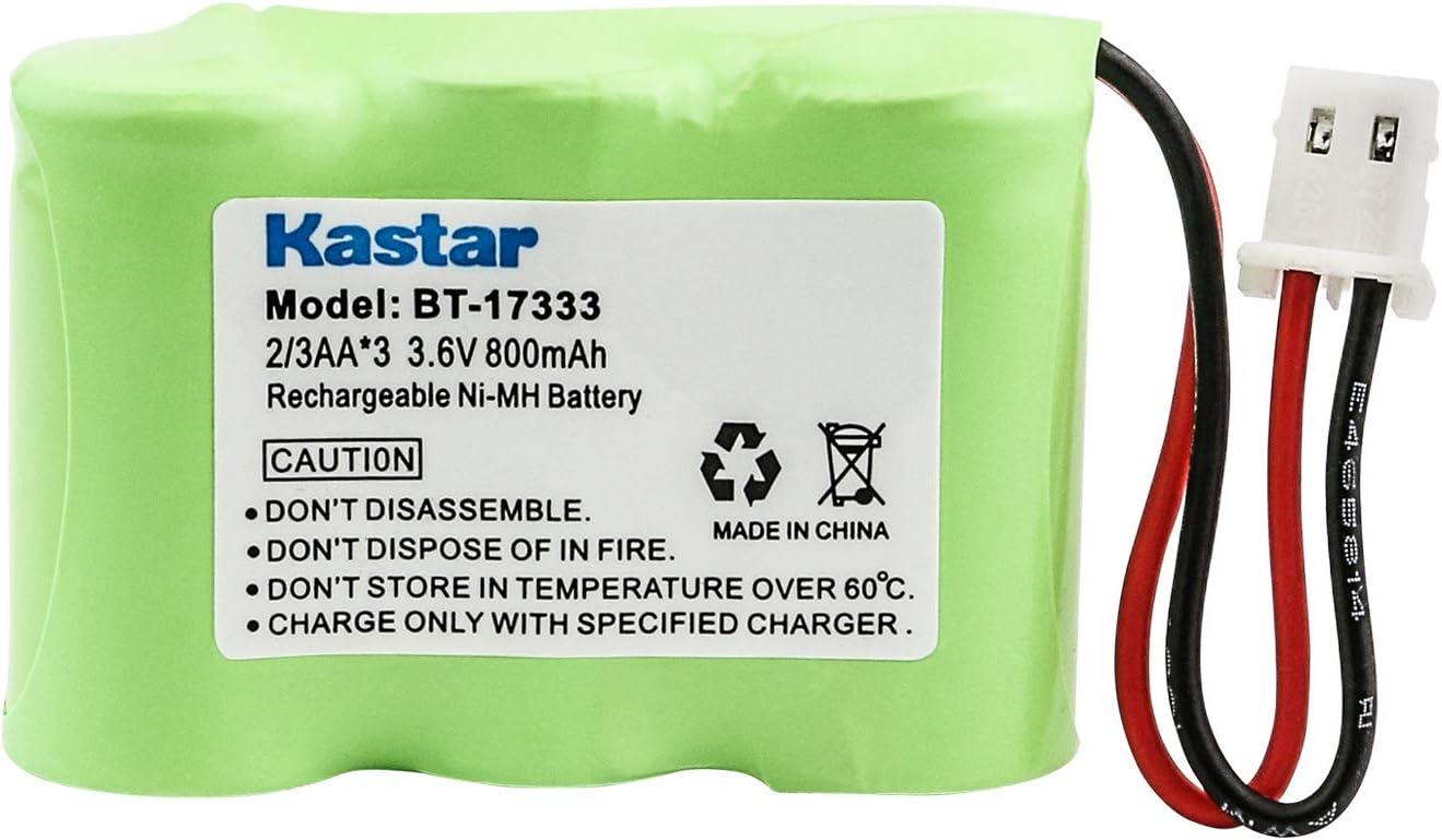 Kastar Rechargeable Cordless Phone Battery Replacement for Vtech BT-17333 BT-27333 80-1338-00-00 CS2111 CS5111 CS5111-2 CS5121 CS5121-2 CS5121-3 CS5121-4 CS5122-3 CS5211 CS5212 CS5221 239069