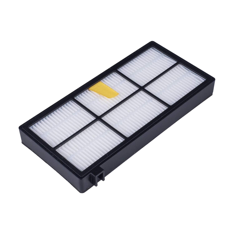 890 876 extractores y Accesorios Recambio aspiradora 810 960 880 Pack de cepillos 896 870 966 895 816 980 866 886 MIRTUX Kit de repuestos Compatible con Roomba Serie 800 y 900 865