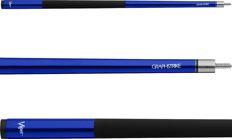 """Viper Graphstrike 58"""" 2-Piece Fiberglass Graphite Composite Billiard/Pool Cue"""