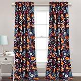 Cheap Lush Decor Lush Décor Pixie Fox Room Darkening Window Curtain Pair, Panel 84″ x 52″, Navy