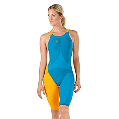 423372a1c6d Image Unavailable. Image not available for. Color: Speedo LZR Racer Elite 2  Comfort Strap Kneeskin ...
