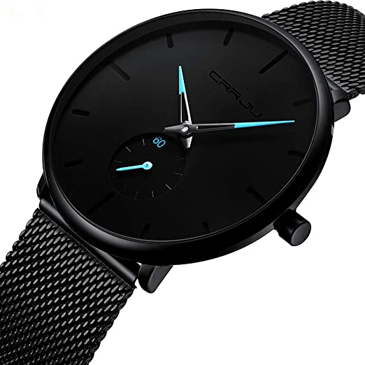 ... Analog Quartz Watch Movement Casual Wrist Watches on Sale on Clearance Leather Strap Luxury Watches Stainless Steel Case Relojes De Hombre Gifts for Men