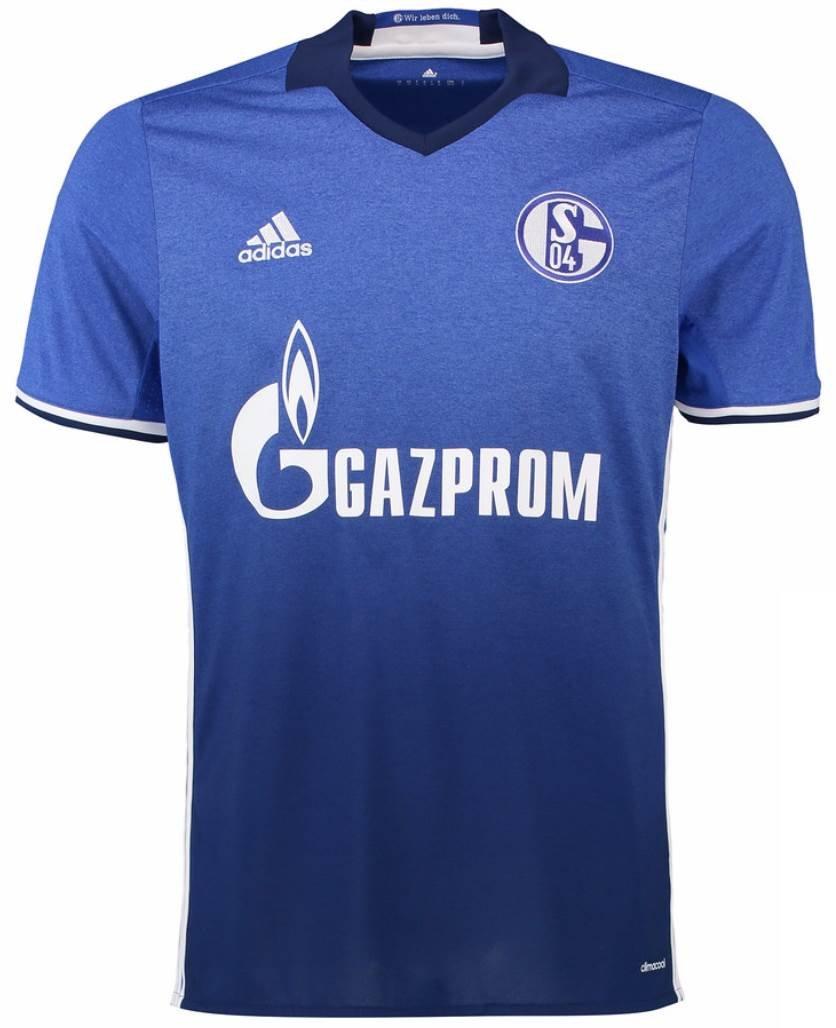 adidas(アディダス) シャルケ04 ホームユニフォーム 2016/18 Schalke 04 Home Shirt 2016/18 [並行輸入品] B06WP1YQLNインポートS