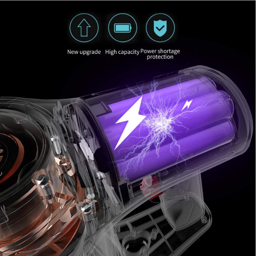 Asbjxny Aspirateur sans fil de poche pour filtre à cyclone multifonctionnel de filtre de cyclone de filtre de collecteur de poussière de maison 9500 Pa de voiture Bleu